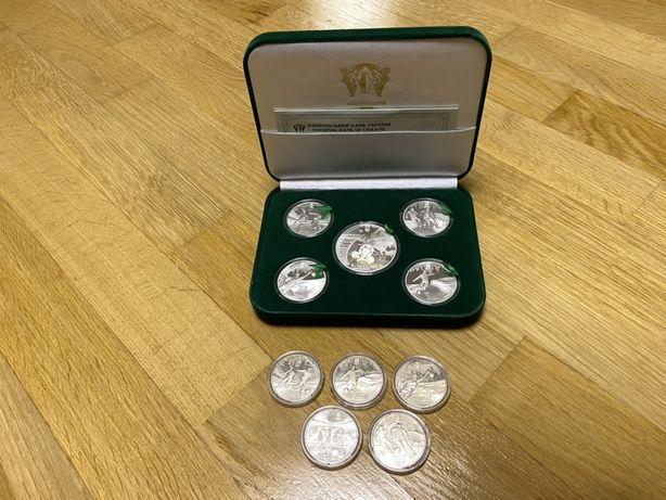 Продам набор серебряных монет 925 пробы Евро 2012 НацБанк НБУ 1/15000