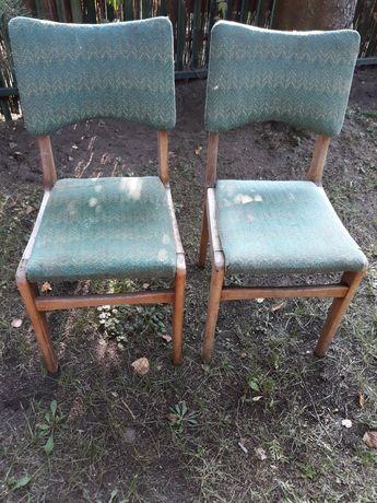 Krzesła PRL stan jak na zdjęciach