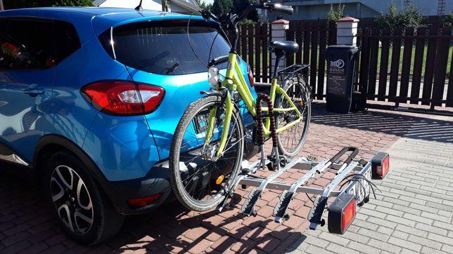 WYPOŻYCZALNIA bagażnik na hak na 4 rowery