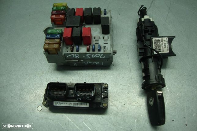 Kit chave, BSI Fiat Punto 1.3 multijet