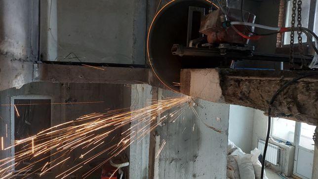 Алмазне різання бетона