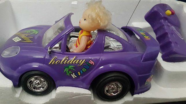 Carro com boneca antigo telecomando