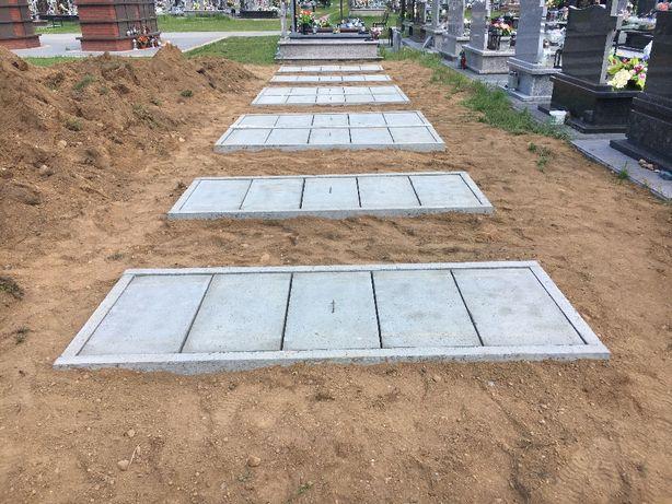 Grobowce betonowe,piwnice grobowe,pieczary katakumby,dowóz,montaż