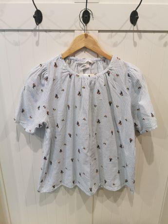haftowana bluzka H&M r.38