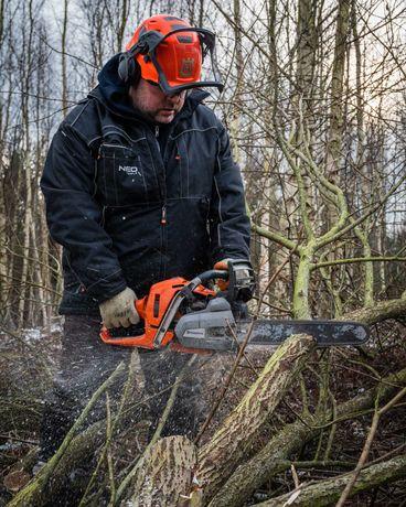Wycinka drzew, wycinka sekcyjna, usuwanie konarów, pielęgnacja terenu