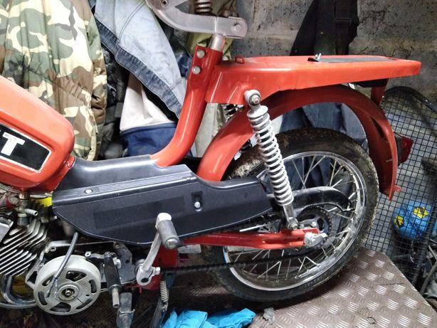 Romet kadet motorower zamiana na WSK 125