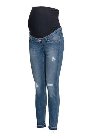 Рваные джинсы скинни для беременных
