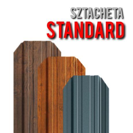 *Sztacheta Metalowa Standard*Sztachety Ogrodzeniowe Z Blachy*