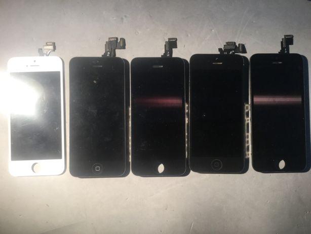Telemoveis iPhones, asus, huawei, ecrans bons e partidos