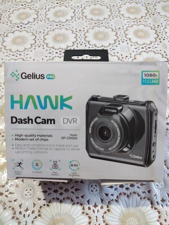 Відеореєстратор Gelius Pro HAWK GP-CD002 DashCam DVR 1080 FullHD