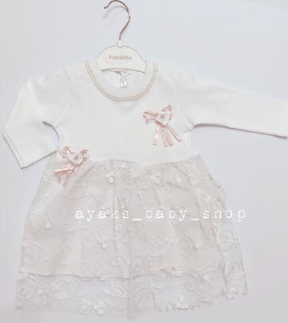 Милое нарядное платье для малышки