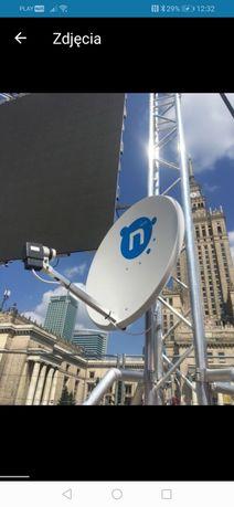 Montaż serwis anten 16 lat w branży GWARANCJA