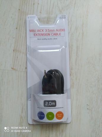 Kabel aux minijack 3.5mm audio extension cable