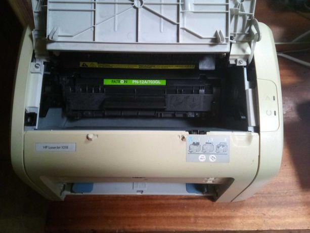 Самый надежный лазерный принтер HP LaserJet 1018 Рабочий