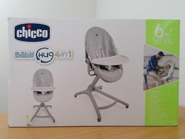 Kit de pápa + forro higiénico para Baby Hug da Chicco [ * NOVO * ]