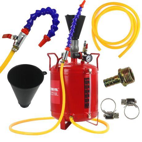 DYSPENSER DO OLEJU 10L /pneumatyczny/ do ciśnieniowego nalewania oleju