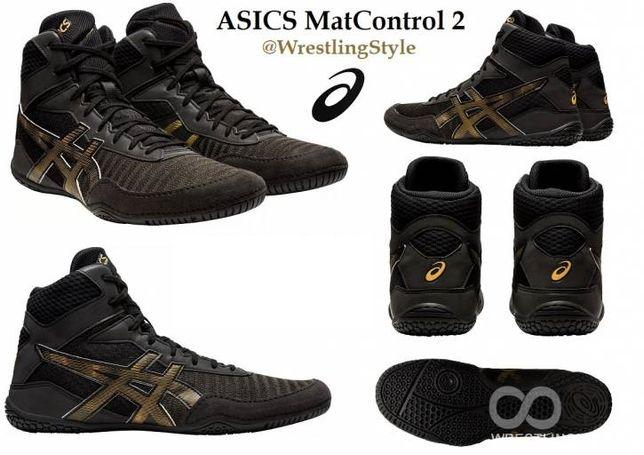 Борцовки, боксерки Asics MatControl2! Борцівки Боксерки Асикс оригинал