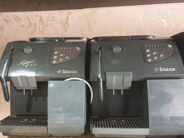Аренда автоматических кофемашин Saeco Magic De Luxe Black 14 грн/день