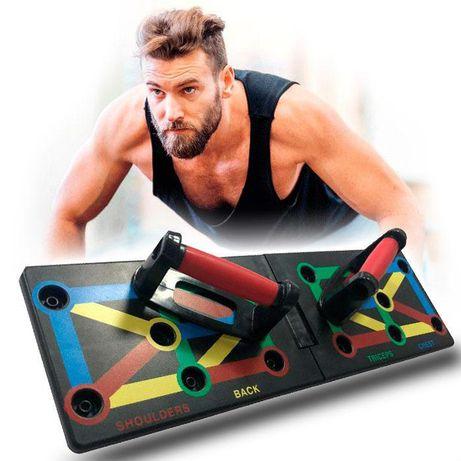 Тренажер платформа для отжиманий Push Up Rack Board спортивная доска