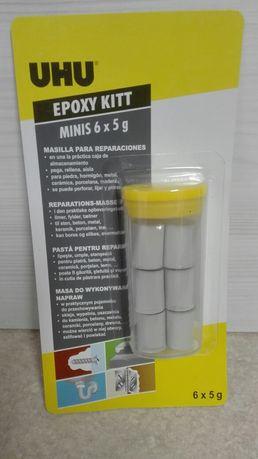UHU EPOXY KITT Minis 6x5g naprawa uszczelnianie