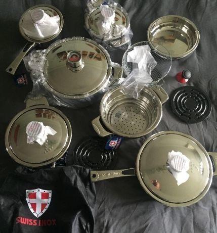 Набор посуды Swiss Inox SI-7017 (Швейцария)