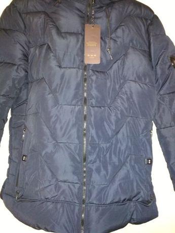 Куртка зимняя теплая blue navy