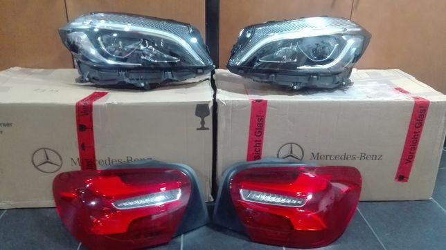 Mercedes A class w176 Faróis Traseiros full Led