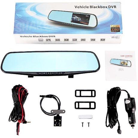Акция!!! Автомобильный видеорегистратор-зеркало + камера заднего вида