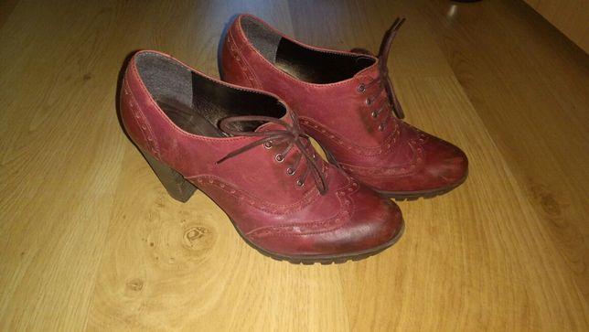 Buty skórzane Lasocki 38