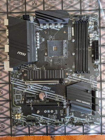 MSI B550-A PRO AM4 сокет ATX формат