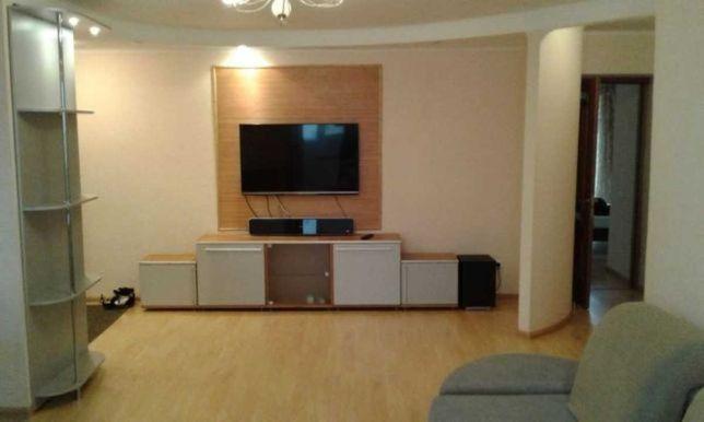 3-ком Комфортная квартира с Ремонтом, Мебелью, Техникой - пр.Пушкина