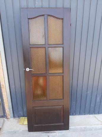 Drewniane drzwi w bdb stanie