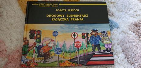 Drogowy elementarz zajączka Frania książka dla dzieci