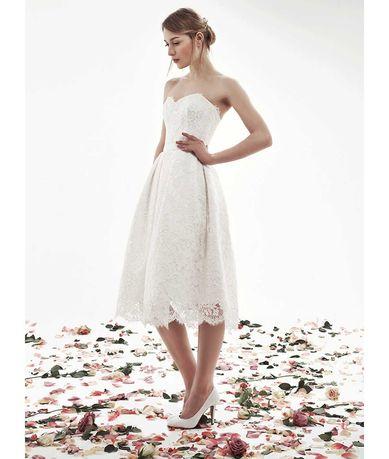 Сукня святкова, вечірня, весільна р. 44-46 з салону Unona
