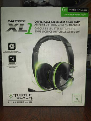 Гарнитура XL1 Xbox Licensed Headset Turtle Beach
