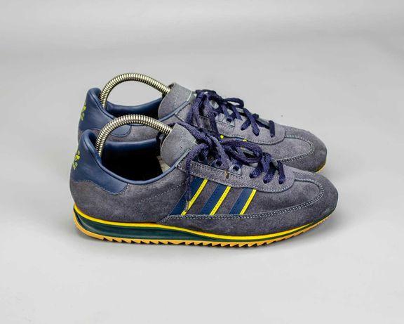 Фирменные винтажные кроссовки Adidas Jeans Vintage Made in Slovenia