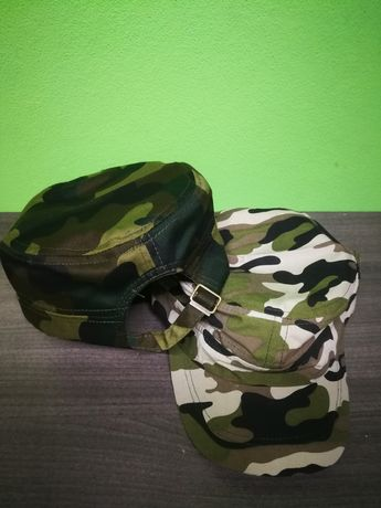 Boina estilo militar camuflado Bonés camuflados novos