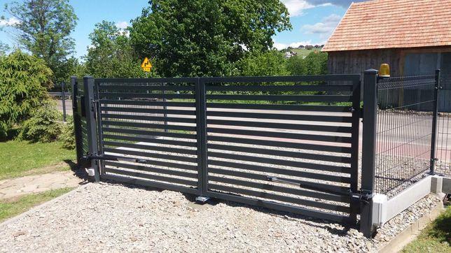 Bramy balustrady ogrodzenia konstrukcje stalowe.