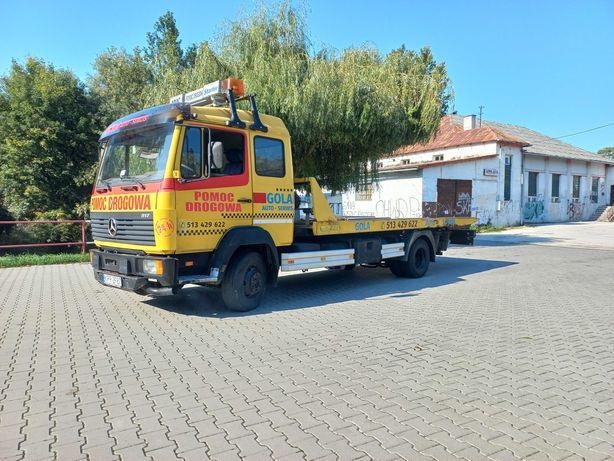 Mercedes 817L Pomoc Drogowa / Autolaweta / Płyta Hydrauliczna /Zamiana