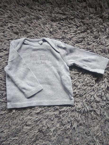 Ubranka dla niemowlaka / bluzka koszulka 50/56 CoolClub/F&F