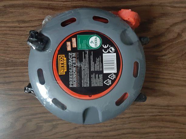 Przedłużacz bębnowy 10m kabel przewód