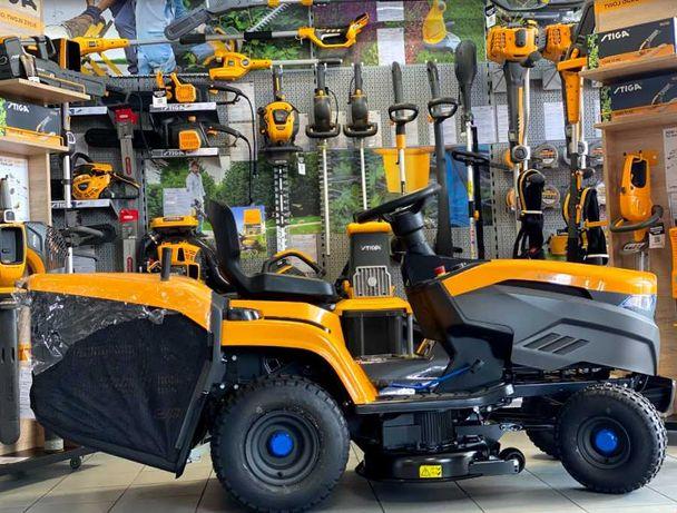 Traktorek Ogrodowy Akumulatorowy STIGA e-Ride C300 / 3000 m2 / 30AH