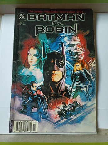 Komiks Batman & Robin wydanie specjalne 3/97