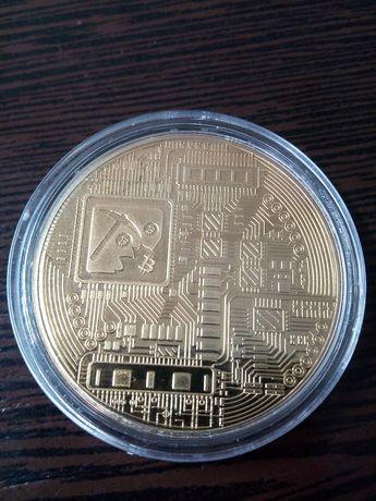 Сувенірна монета Біткоін