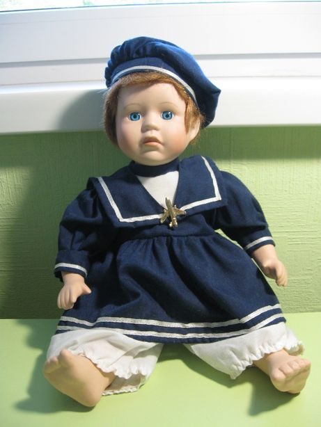 Форфоравая игрушка Анна,винтаж коллекционная.