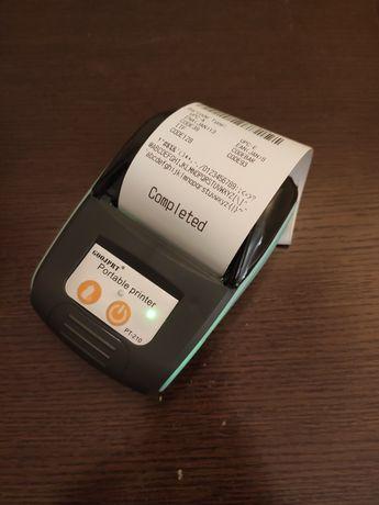 Impressora de talões térmica com bateria