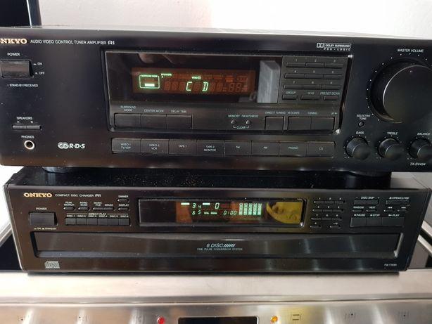 Ресівер,звуковий підсилювач, ONKYO TX-SV434 привезений з Німеччини