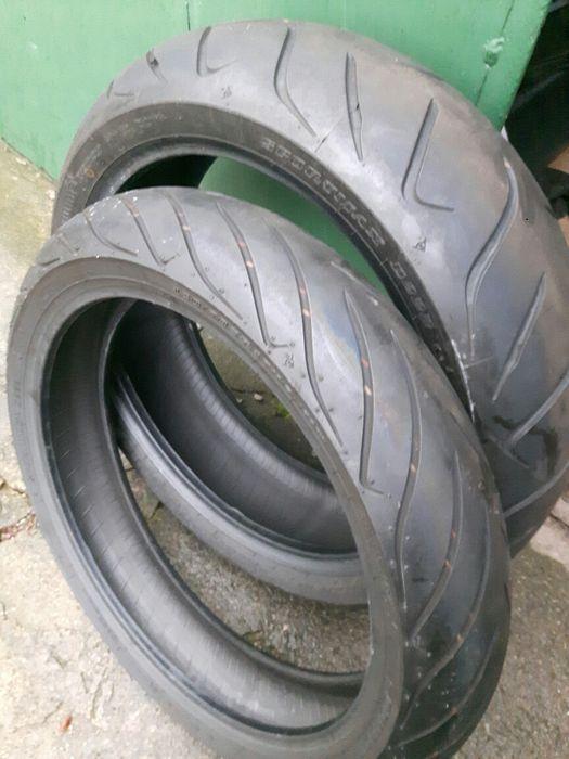 Dunlop SportMaxx kpl - 120x70x17 , 180x55x17. Stan bdb Kalisz - image 1