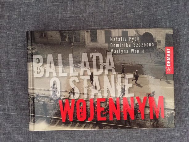 """""""Ballada o stanie wojennym"""" Natalia Pych, Dominika Szczęsna, Martyna W"""