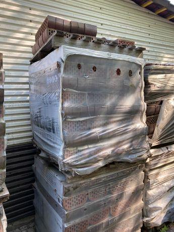 Kształki ogrodzeniowe klinkierowe cegły wyprzedażowe